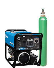 Miller Welding Machine and gas cylinder