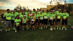 General Air's MS150 bike race team