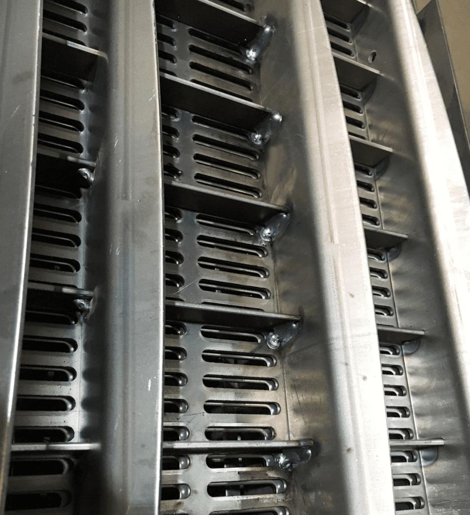 robotic welding floor grid