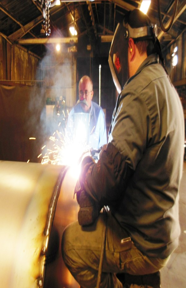 metal-cored welding